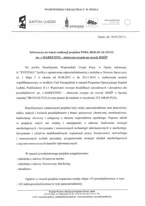 OA IP2 2015-08-06 Referencje 2/2